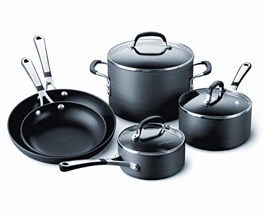 Calphalon hard anodized cookware is dishwasher safe