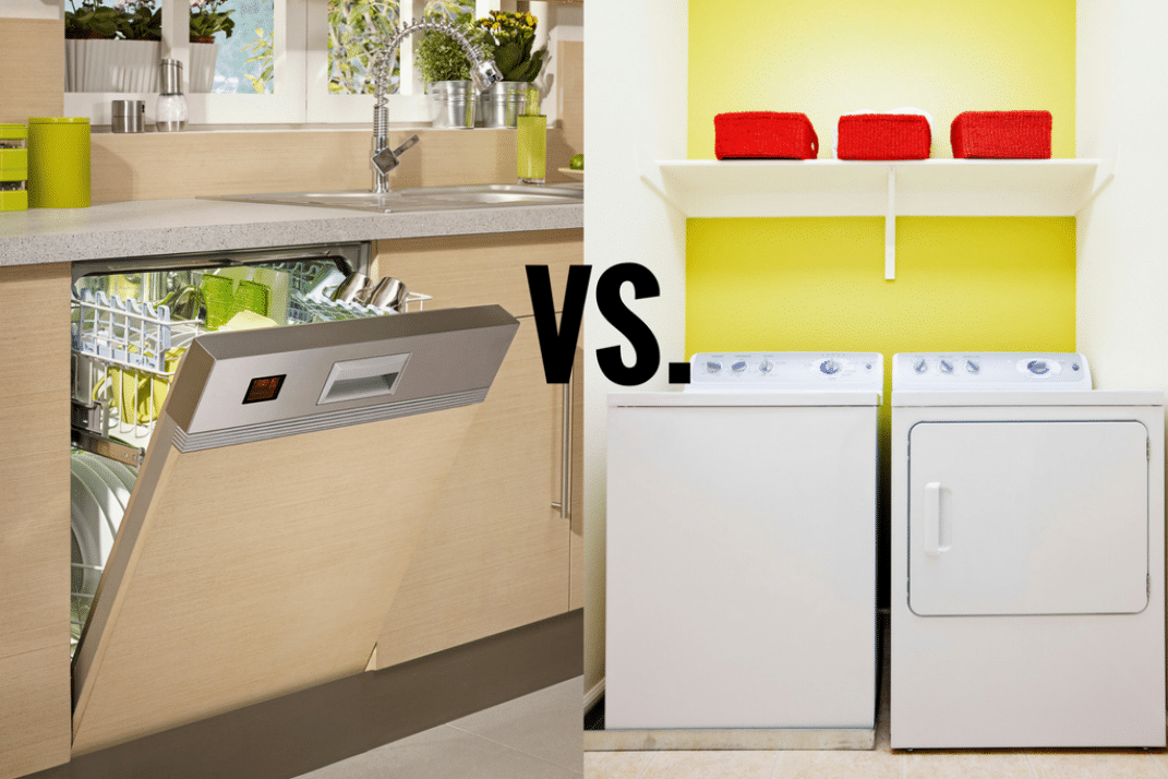 Dishwasher vs Washing Machine