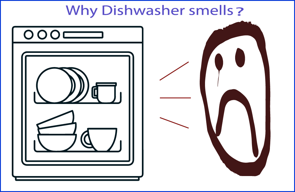 Why Dishwasher Smells?