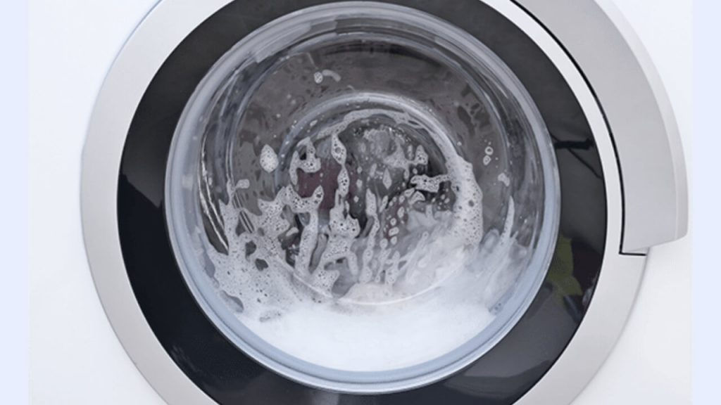 How to get rid of soap suds in the washing machine