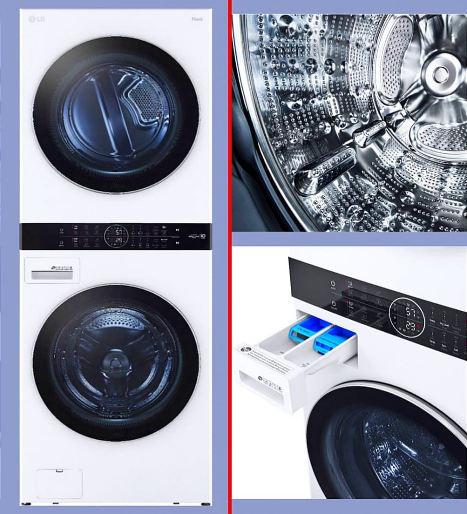 Best stackable front load Washer and dryer